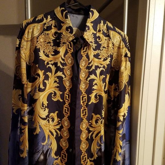 cbad9d772 Gianni Versace Shirts | Mens Versace Shirt | Poshmark